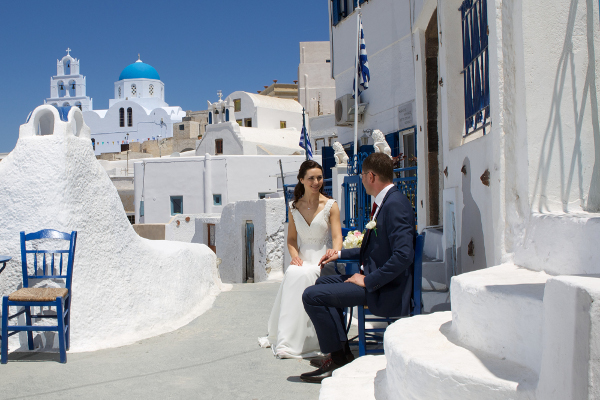 Santorini - the paradise in the Aegean Sea